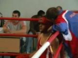 Георгий Борзилов (красный угол) соревнования 2007, бокс, чемпионат ростовской области среди юниоров, турнир, бокс, boxing, росто