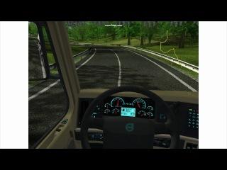 euro truck simulator. mod post -ussr 1.4