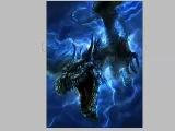 Рисуем дракона в шторм Dragon In the Storm